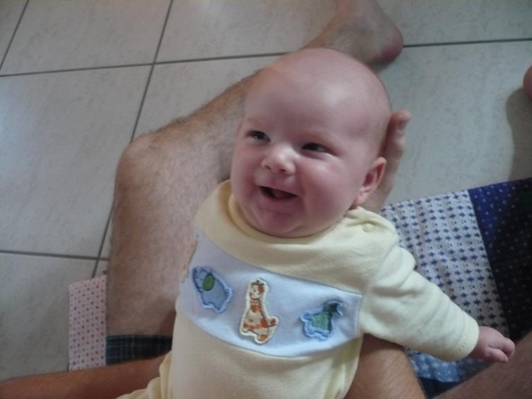Luzie lächelt